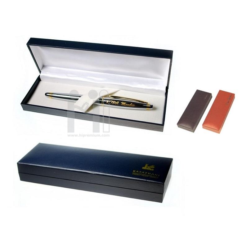 กล่องหนัง กล่องใส่ปากกา