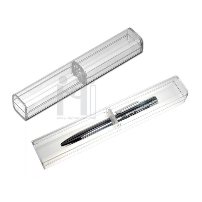 กล่องบรรจุปากกา กล่องพลาสติกโปร่งแสง