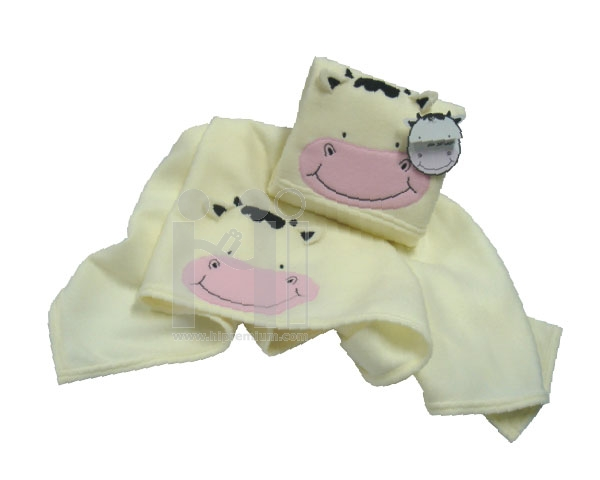หมอนผ้าห่มเด็กรูปวัว หรือรูปการ์ตูนตามสั่ง