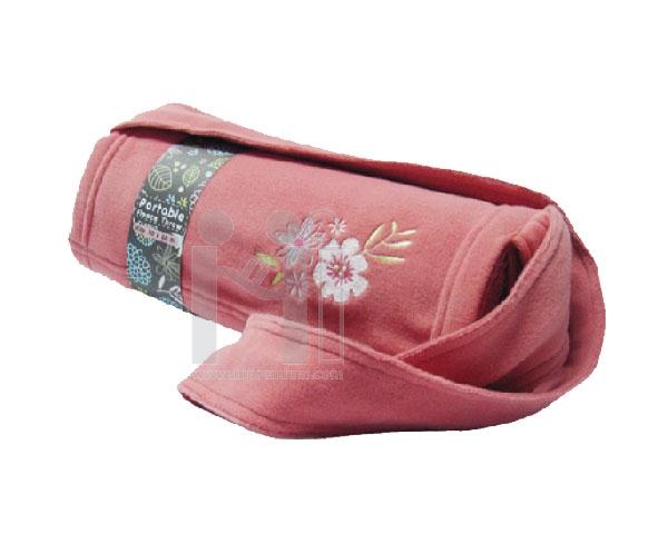 ผ้าห่มม้วนเก็บเป็นกระเป๋าสั่งทำขั้นต่ำ1,000ชิ้น