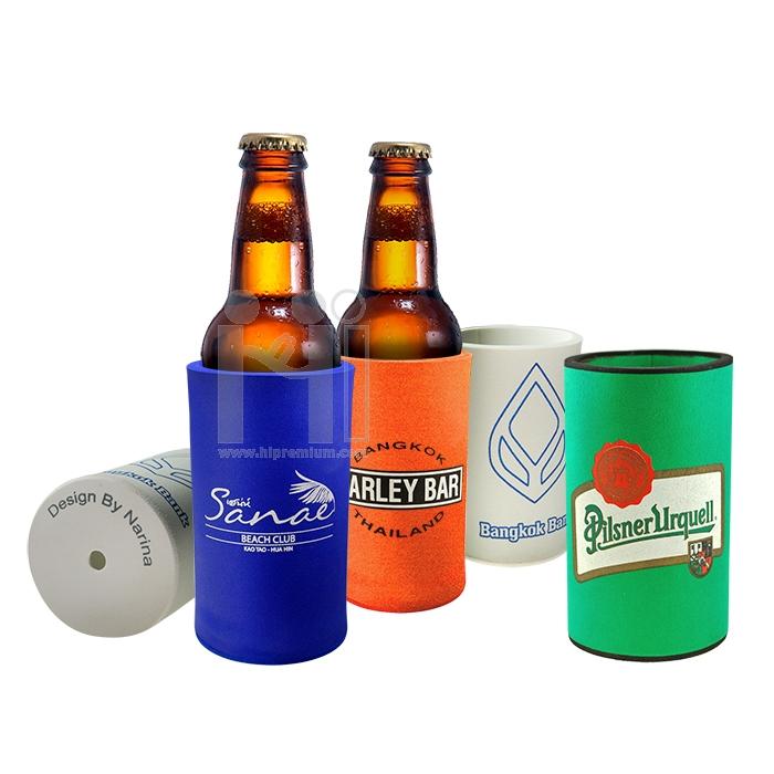 ปลอกแก้วเก็บความเย็น ปลอกแก้วสวมขวดเบียร์ใหญ่