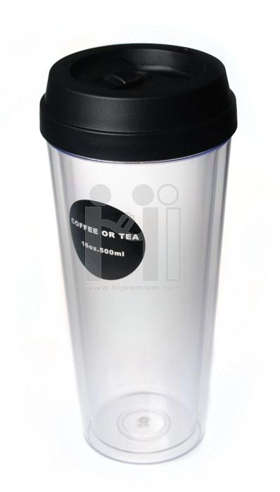 แก้ว Eco Cup แก้วน้ำพลาสติก ขั้นต่ำ 100 ใบ <br>ผลิตภัณฑ์รักษาสิ่งแวดล้อม
