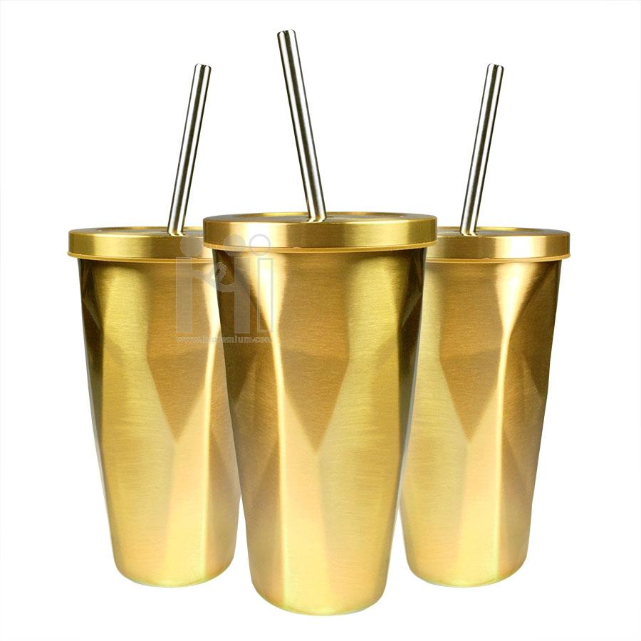 แก้วมักสแตนเลส2ชั้นอย่างดี <br>แก้วเพชรสั่งปั๊มโลโก้ได้