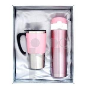 ***ชุดเซ็ตกล่องกระบอกน้ำสูญญากาศและแก้ว กระบอกน้ำสแตนเลสสต๊อกขั้นต่ำ100ชุด
