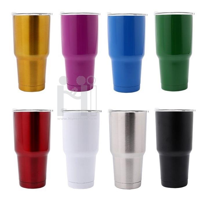 แก้วทรงเยติ YETI ขนาดใหญ่ แก้วมักสแตนเลสสต๊อก แก้วทรงเยติ พรีเมี่ยม