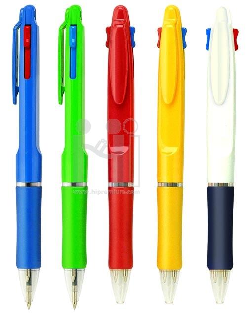 ปากกา2ไส้ ปากกาหลายใส้(หมึกน้ำเงินและแดง)