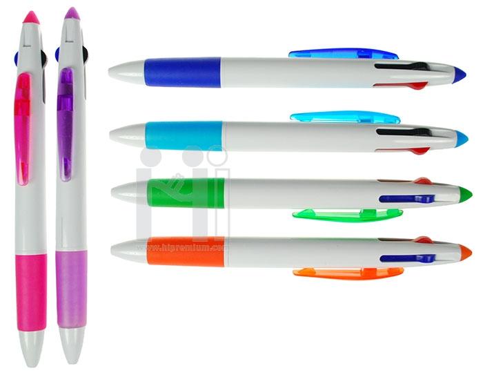 ปากกา3ไส้ ปากกาหลายไส้ ขั้นต่ำ300แท่ง