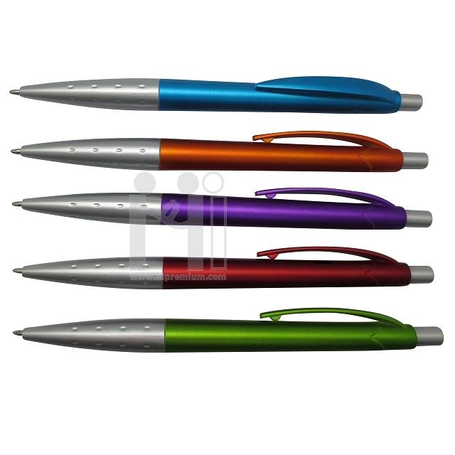 ปากกาพลาสติกลูกลื่น ปากกาสต๊อก ขั้นต่ำ300ด้าม