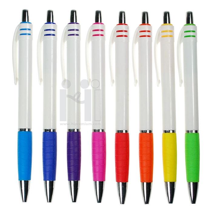ปากกาพลาสติก พรีเมี่ยม ปากกาลูกลื่น Stock
