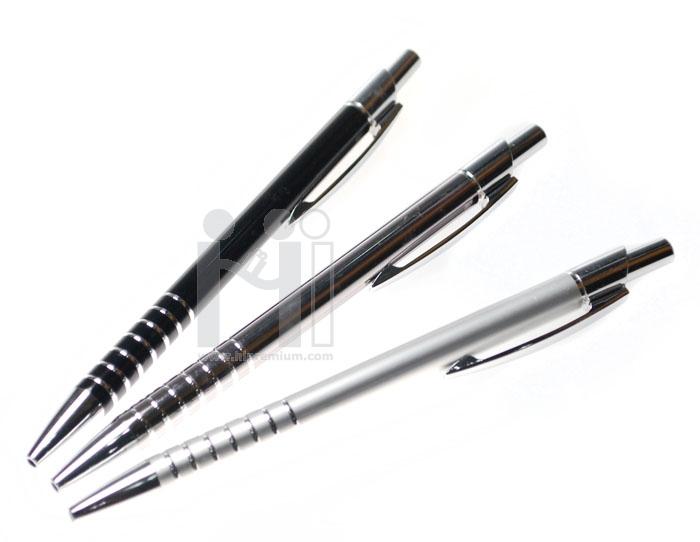 ปากกาโลหะสีเงิน,ดำ,ดำรมควัน