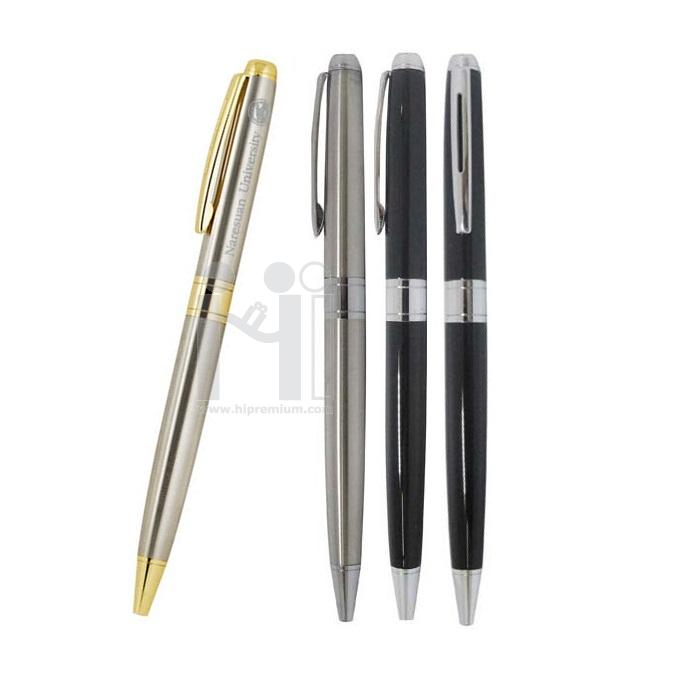 ปากกาโลหะหมึกลูกลื่น มีน้ำหนัก ปากกาโลหะสต๊อก