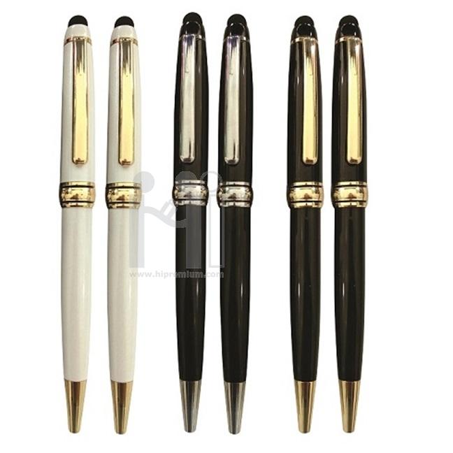 ปากกาทัชสกรีน ปากกาโลหะสต๊อก ปากกาเหล็กพร้อมส่ง ปากกาลูกลื่นหมึกแห้ง