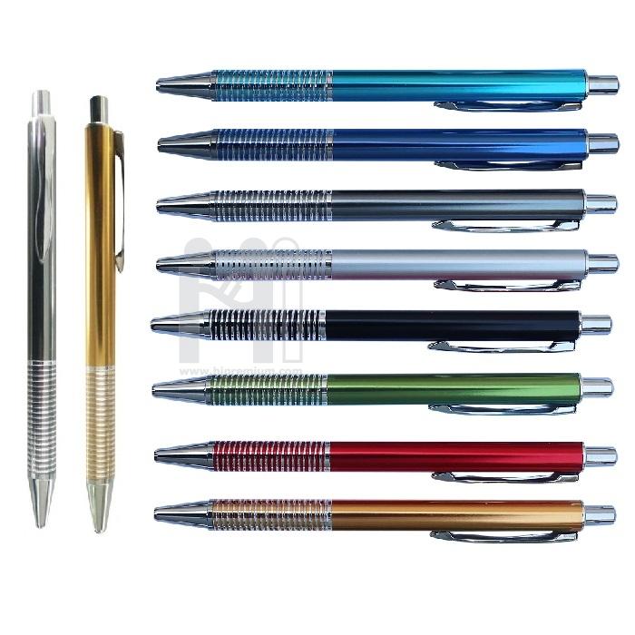 ปากกาโลหะสต๊อก ปากกาเหล็ก ปากกาลูกลื่นหมึกแห้ง
