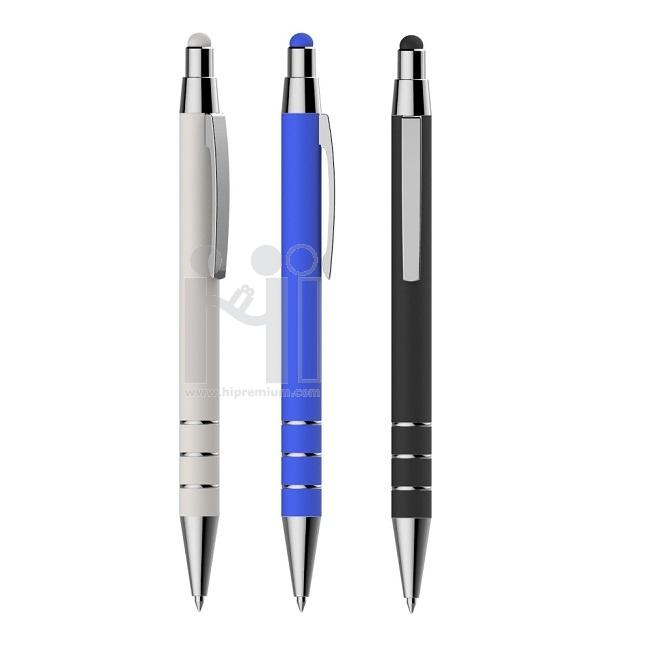 ปากกาทัชสกรีน ปากกาโลหะสต๊อก ปากกาเหล็ก เบา