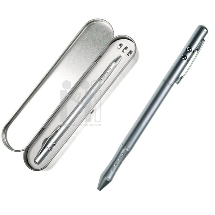 ชุดกล่องปากกาโลหะเลเซอร์,ไฟฉาย, ปากกาสัมผัสหน้าจอ