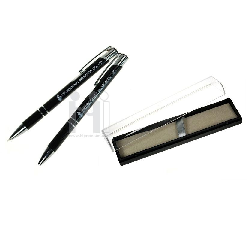 ชุดกล่องเซ็ตคู่ ปากกาและดินสอกด