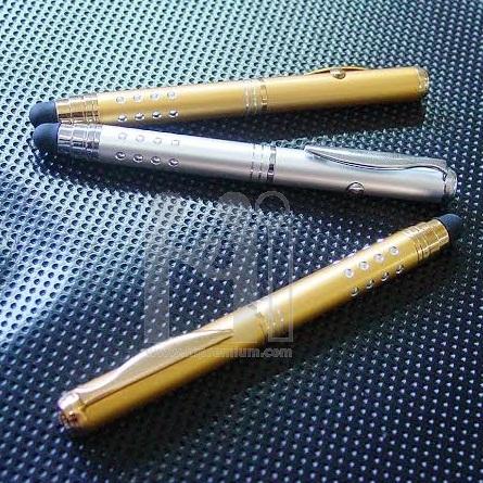 ปากกาเลเซอร์ พร้อมสัมผัสหน้าจอในตัว <br>ปากกา Stylus