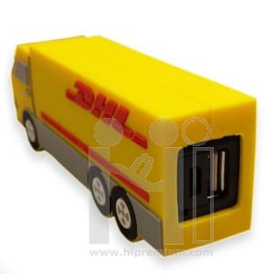 พาวเวอร์แบงค์รถขนส่งDHLขึ้นรูปใหม่หรือทรงอื่นๆตามสั่งแบตสำรองสั่งทำ