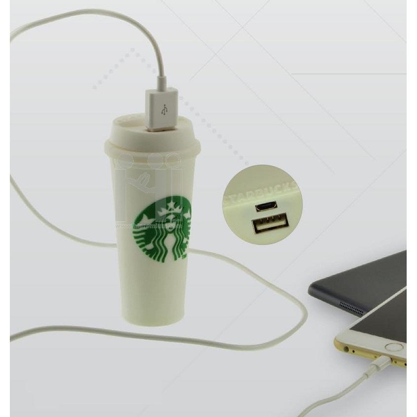 พาวเวอร์แบงค์แก้วกาแฟขึ้นรูปใหม่หรือทรงอื่นๆตามสั่งแบตสำรองสั่งทำ