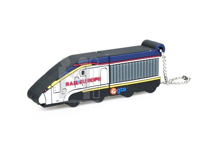 Flash Drive รถไฟ Rail Europe หรือทรงอื่นๆตามสั่ง (แฟลชไดรฟ์สั่งทำ)