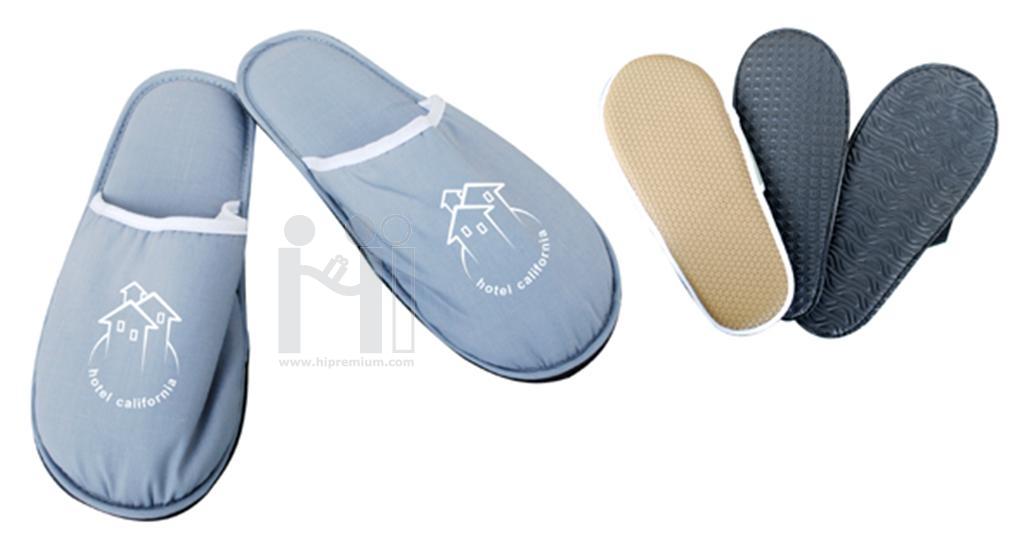 รองเท้าผ้าทรงหัวปิด รองเท้าแตะ รองเท้าสำหรับใส่ในบ้าน