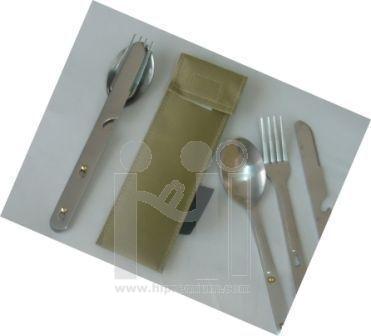 ชุดเซ็ตกระเป๋า,ช้อน,ช้อนส้อมและมีด สั่งขั้นต่ำ100ชุด