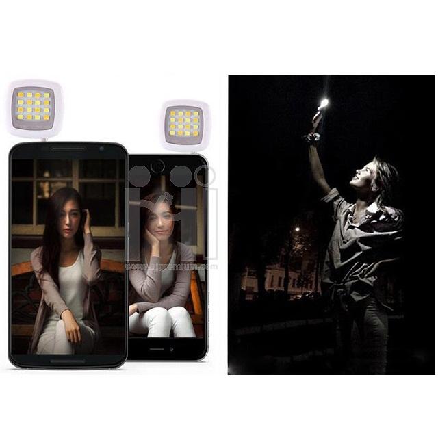 Selfie Flash Light สปอตไลท์เสียบต่อมือถือสมาร์โฟน,แท็บเล็ต