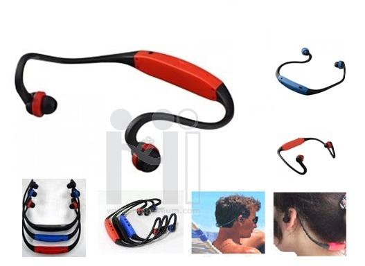 Hands Free Sport Earphone MP3 Player<br>เครื่องเล่นMP3 พกพา