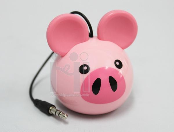 มินิลำโพง USB ลำโพงหมู