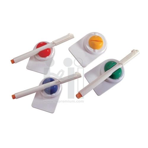 ที่วางปากกาพร้อมปากกาพลาสติก