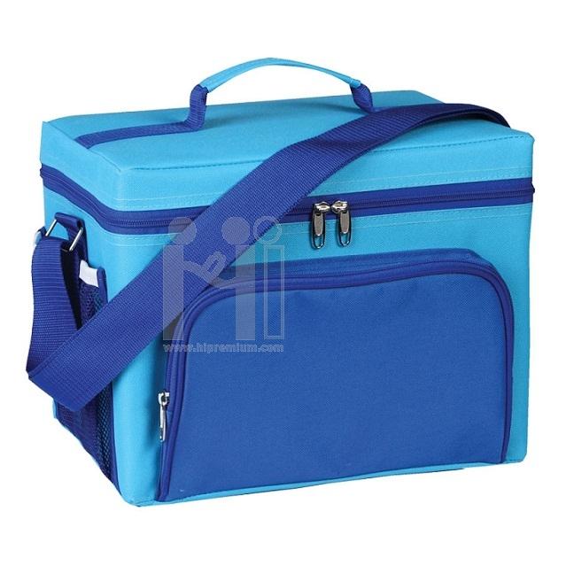 กระเป๋าเก็บอุณหภูมิ ด้านในเลือกเป็นโฟมหรือฟรอยด์ได้กระเป๋าปิคนิค กล่องเก็บความเย็น