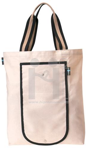 กระเป๋าช้อปปิ้งผ้าดิบหนา กระเป๋าพับเก็บได้  ขั้นต่ำเพียง100ใบ