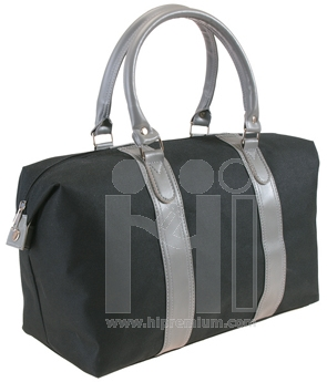 กระเป๋าเดินทาง ผ้าสลับหนังเทียม