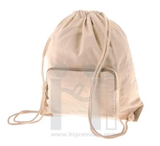 กระเป๋าผ้าดิบหนา เป้หูรูดผ้าดิบ ขั้นต่ำเพียง100ใบ