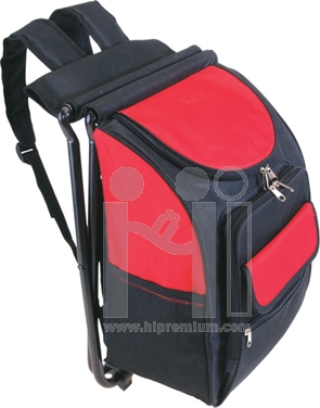 เก้าอี้ผ้าใบปิกนิคพร้อมกระเป๋าเป้ในตัว