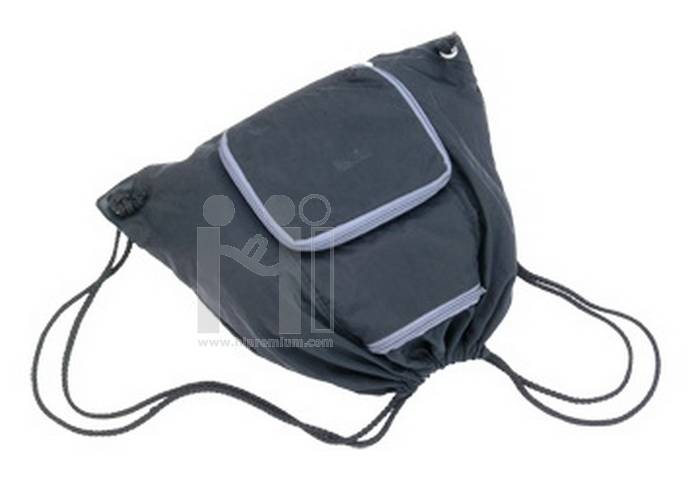 กระเป๋าเป้หูรูด ถุงหูรูดสะพายหลัง สั่งทำ