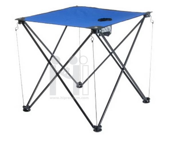 โต๊ะผ้าใบปิกนิคพร้อมช่องใส่แก้ว,ขวดน้ำ