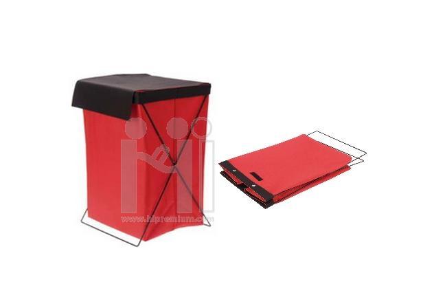 กล่องตะกร้าขาเหล็ก <br>กล่องผ้าอเนกประสงค์