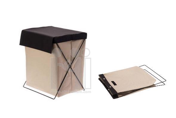 กล่องตะกร้าขาเหล็ก กล่องผ้าอเนกประสงค์