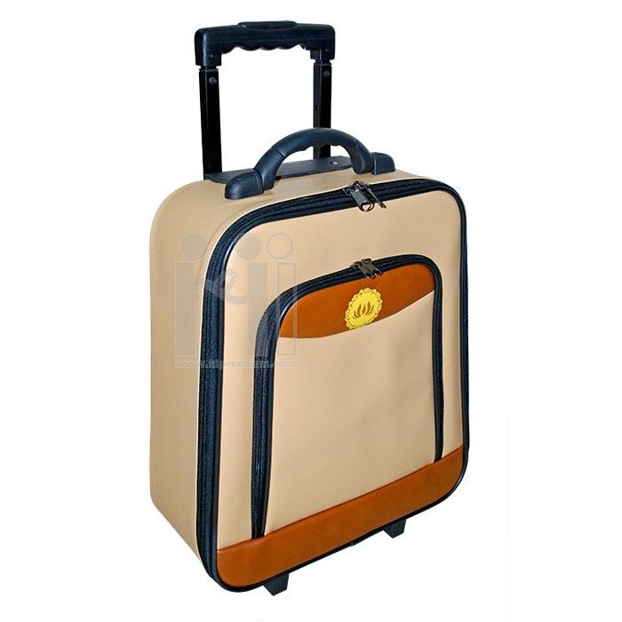กระเป๋าล้อลาก หนังเทียม
