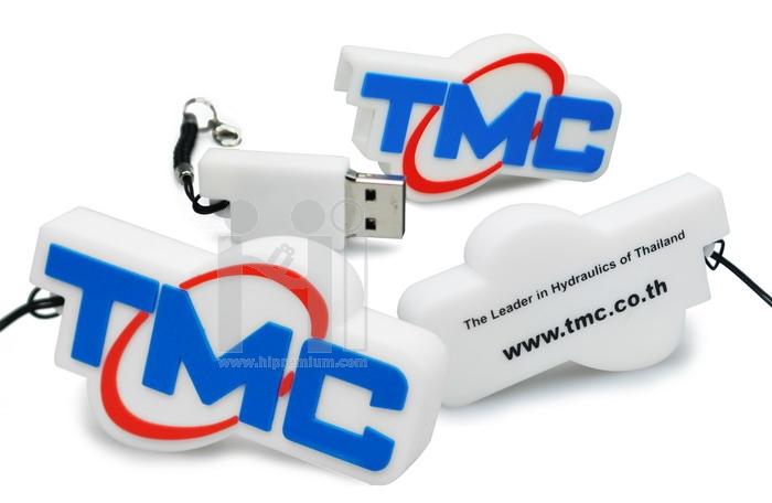แฟลชไดร์ฟโลโก้ TMC หรือทรงอื่นๆตามสั่ง (แฟลชไดรฟ์สั่งทำ)