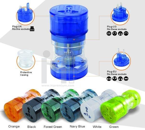 ปลั๊กไฟทั่วโลก International Travel Plug Adapter  UNIVERSAL ADAPTER