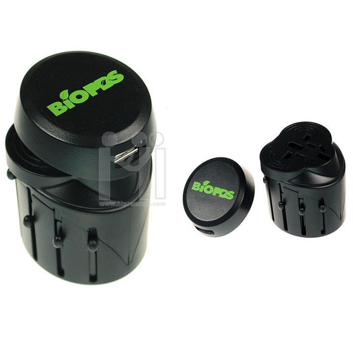 USB ปลั๊กไฟทั่วโลก International Travel Plug Adapter  UNIVERSAL ADAPTER