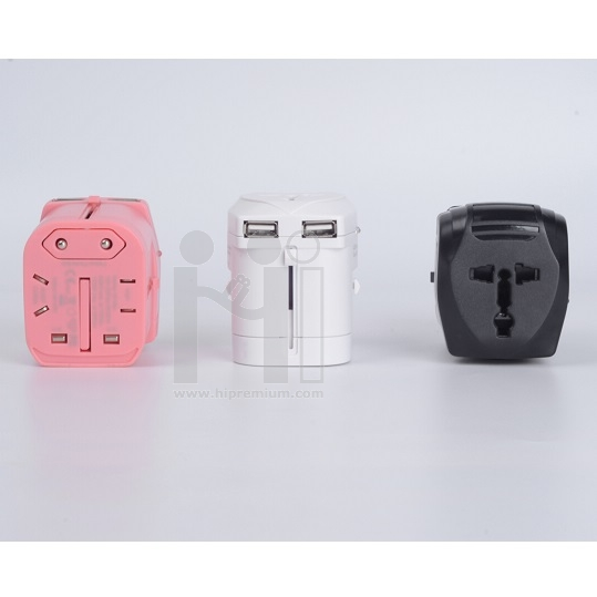 ปลั๊กไฟทั่วโลก International Travel Plug Adapter  UNIVERSAL ADAPTER
