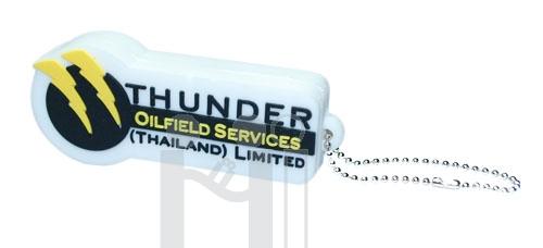 แฟลชไดร์ฟ โลโก้Thunder Oilfield Services  หรือทรงอื่นๆตามสั่ง (แฟลชไดรฟ์สั่งทำ)