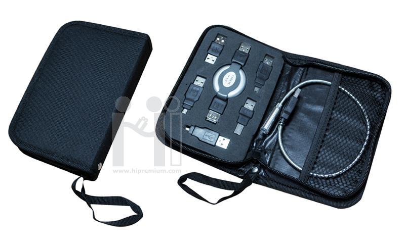 ชุดกระเป๋าอุปกรณ์คอมพิวเตอร์<br>Laptop USB Kits