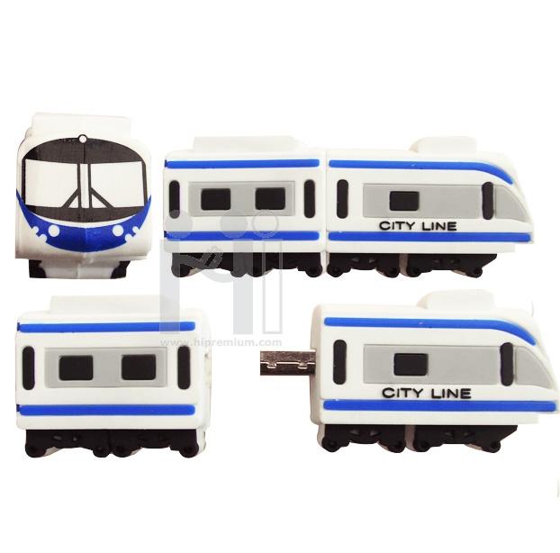 Flash Drive BTS  รถไฟฟ้าบีทีเอส หรือทรงอื่นๆตามสั่ง (แฟลชไดรฟ์สั่งทำ)