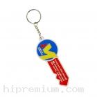 พวงกุญแจยางหยอดด้านเดียว<br> พวงกุญแจพีวีซีขึ้นรูปใหม่ตามสั่ง