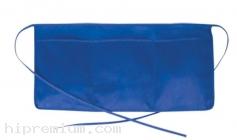 เอี๊ยม ผ้ากันเปื้อนครึ่งตัว กระเป๋า3ช่อง ผ้าคอมทวิว