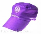 หมวกทรงเกาหลี หมวกโกโบริ หมวกแก๊บสีเดียวผ้าพีช